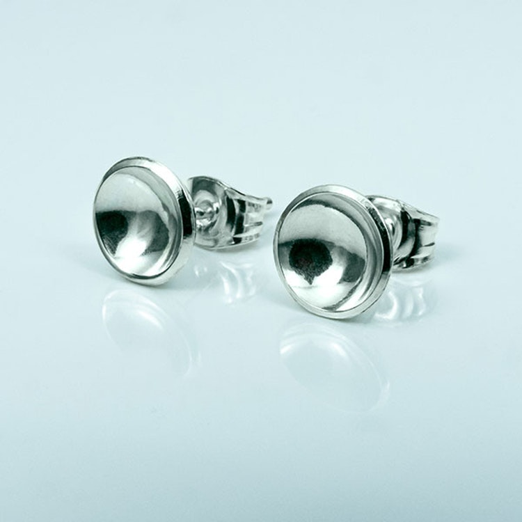 Silver earrings - Silver