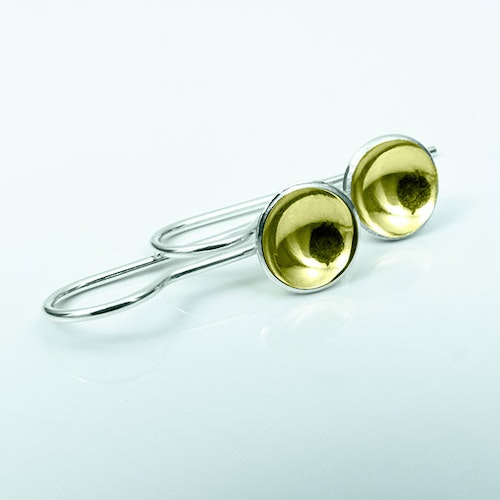 Silver earrings - Gold plating