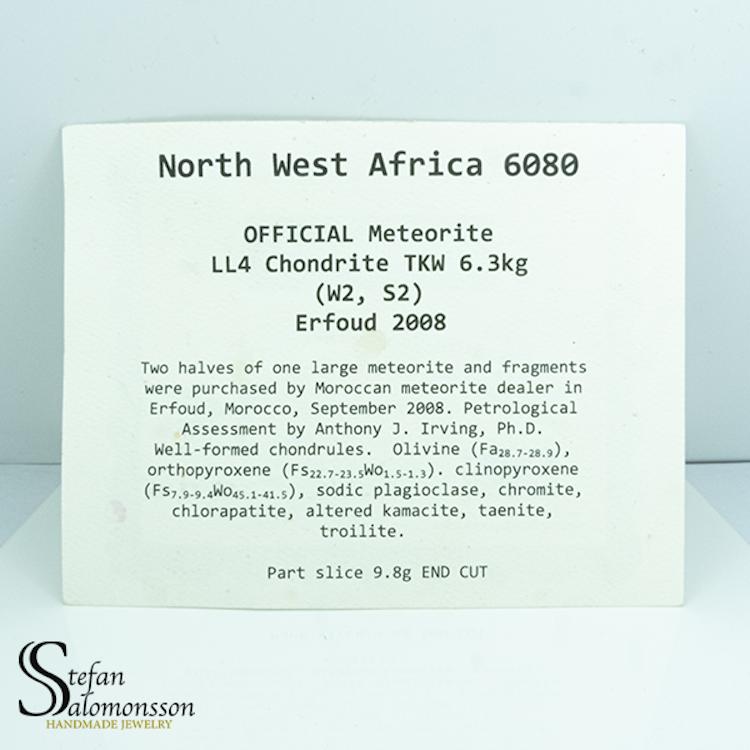 NWA 6080 9.8g