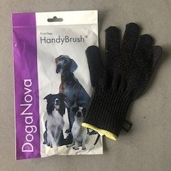 Hundtandborste i form av handske