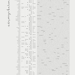 Säsongkalender Poster 50x70 cm