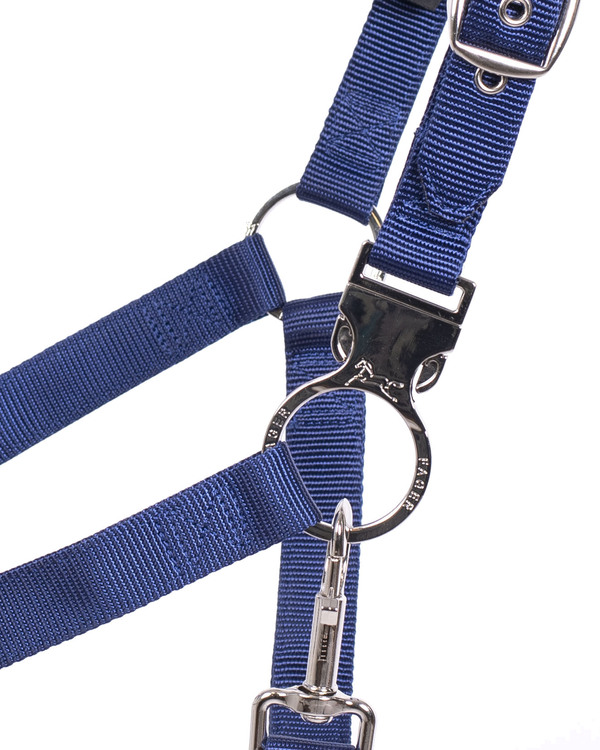 Smart Halter Nylon Blue