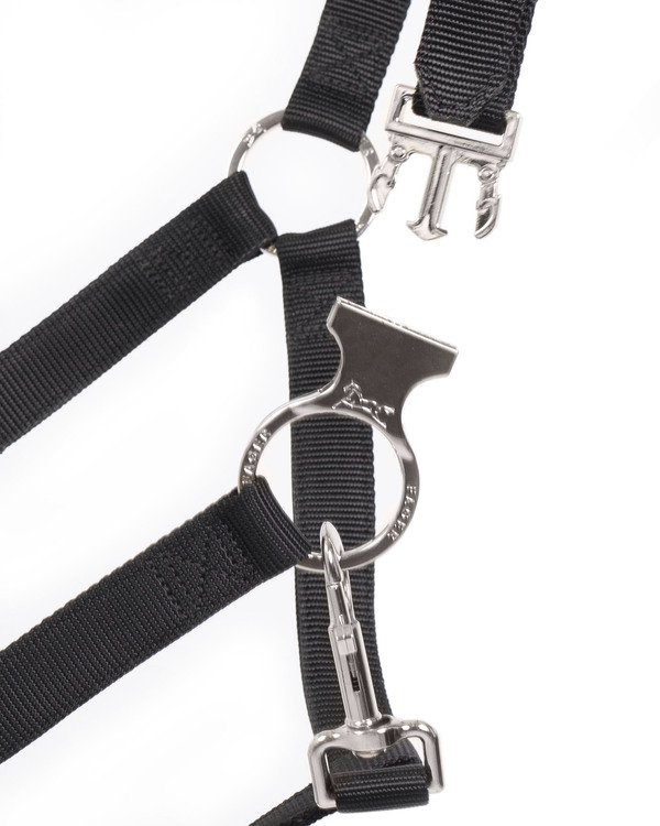 Smart Halter Nylon Black