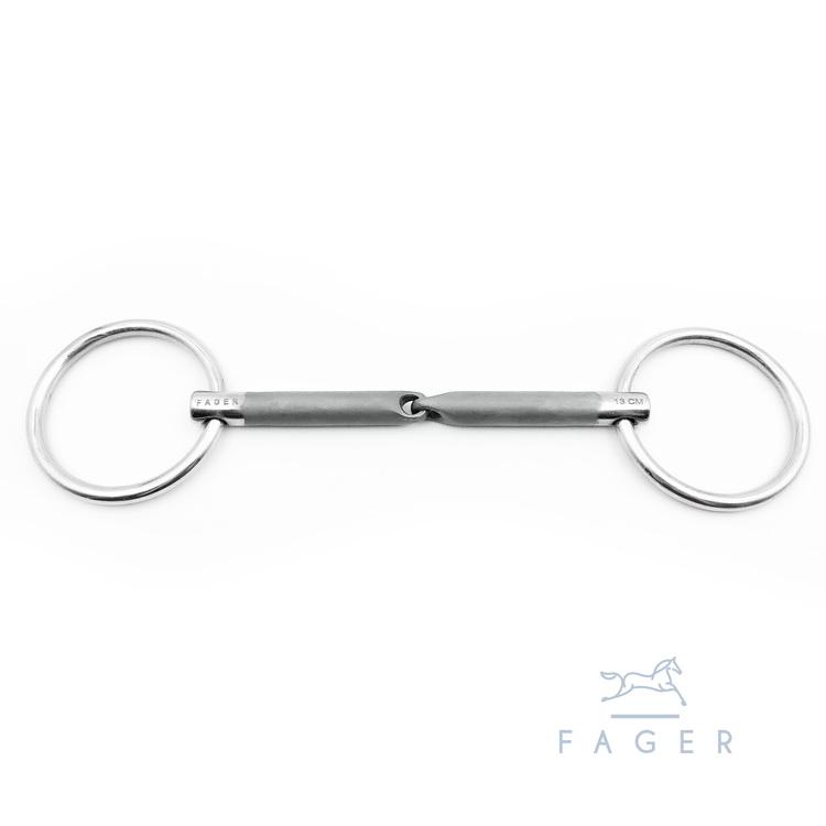 Kasper Sweet iron Bradoon Loose rings