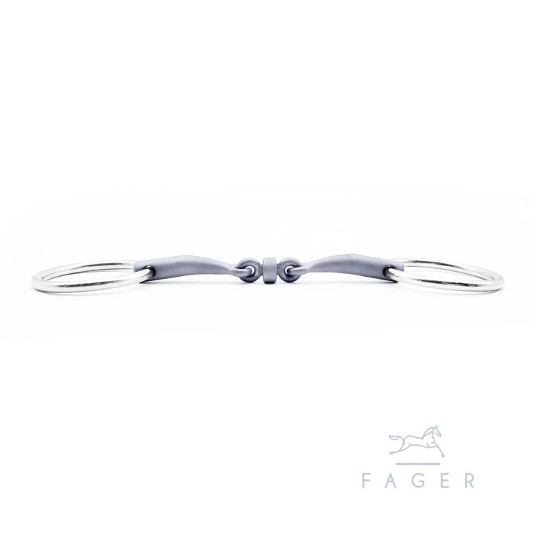 Alice Titanium Bridoon Loose rings