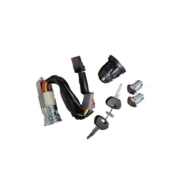 Tändningslås inkl. nycklar, tanklock & dörrlås