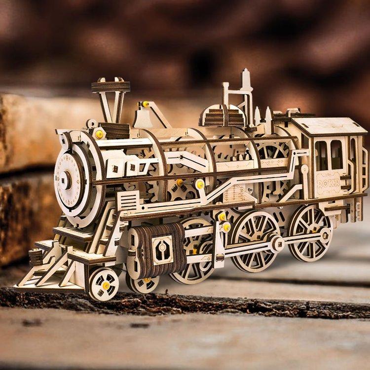 Robotime Lokomotiv DIY