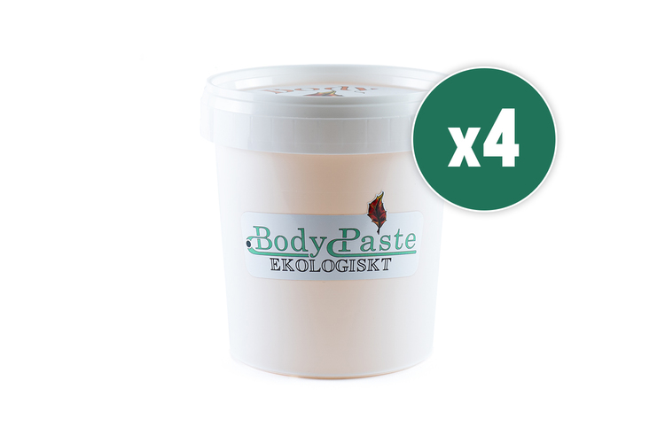 Ekologiskt Bodypaste 4x 1,2kg