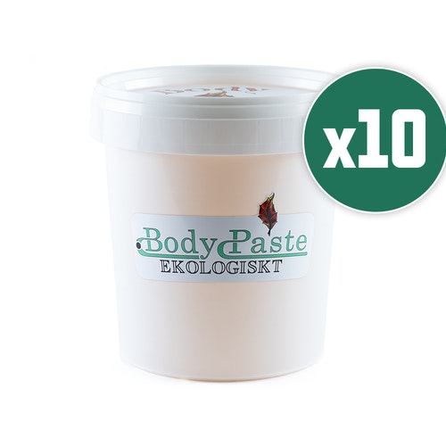 Ekologiskt Bodypaste 10x 1,2kg