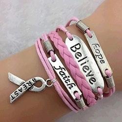Rosa armband   allt i ett armband