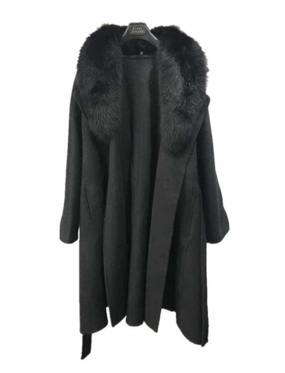 GINA COAT  BLACK