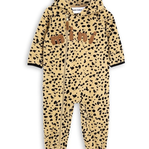 Mini Rodini - Fleece Spot Onesie