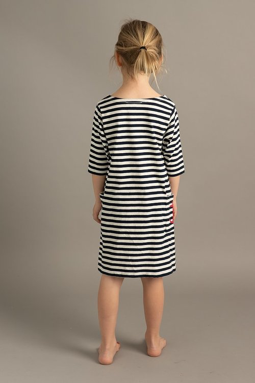 EM - Nova Dress Stripe Navy