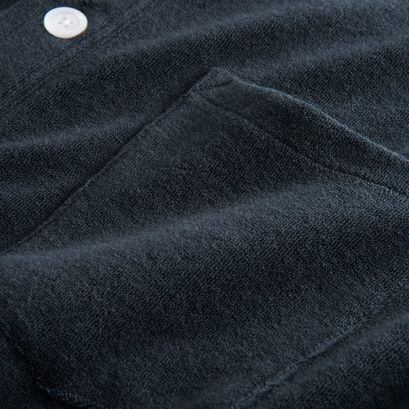 Nikben - Terry Studio LS Shirt Navy