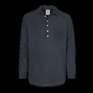 Nikben - Terry Studio LS Shirt Navy