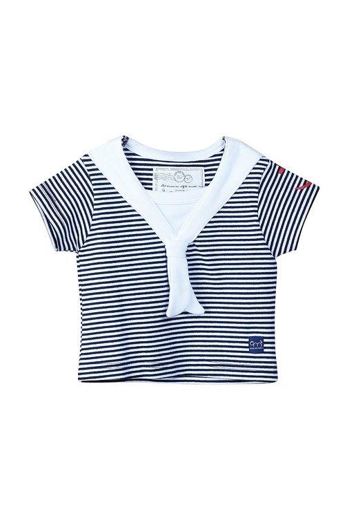 EM - Matros T-shirt White/ Navy