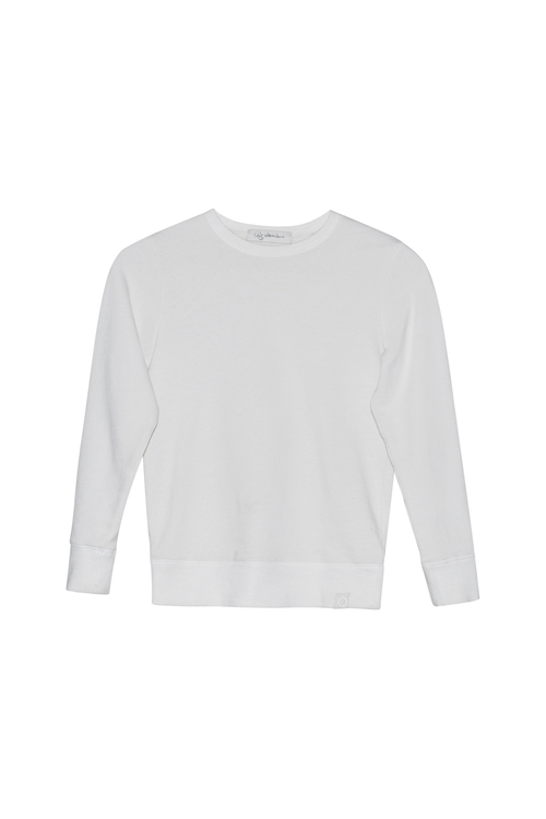 I Dig Denim - Jean Sweater Organic Baby Pearl