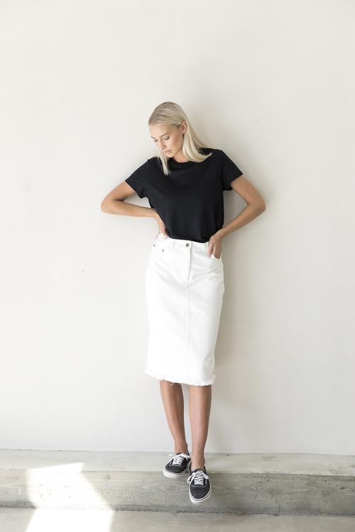 I Dig Denim - Ross Denim Skirt Organic