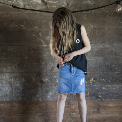 I Dig Denim - Livy Denim Skirt Kids