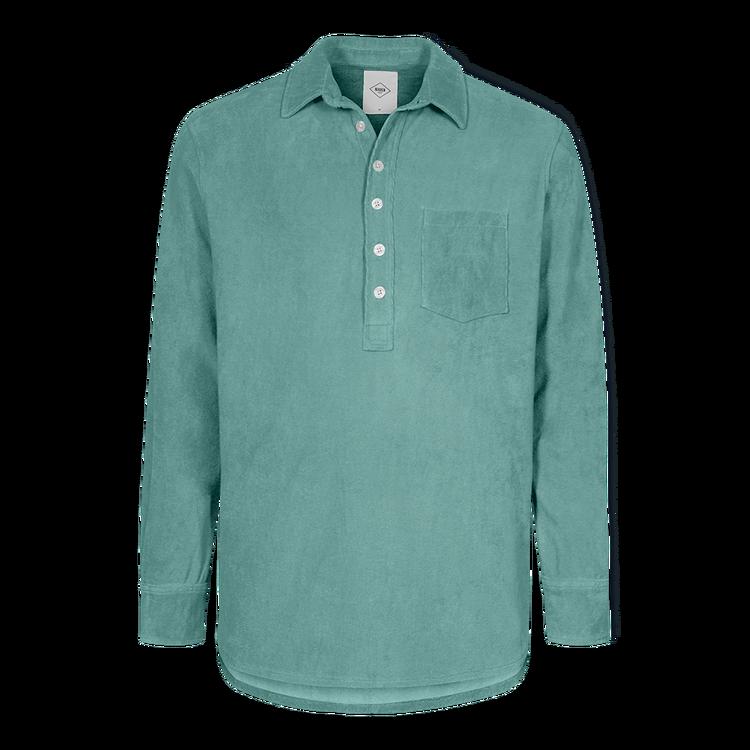 Nikben - Terry Studio LS Shirt Frosty Spruce