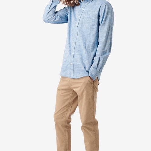 Boomerang - Wilmer Flamé Shirt Electric Blue