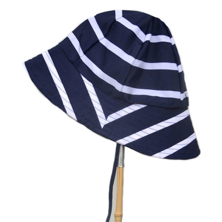 Petit Crabe - Frey Sun Hat, Blue/White