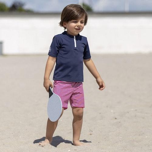 Petit Crabe - Max Half Zip Swim Shirt S/S, Blue