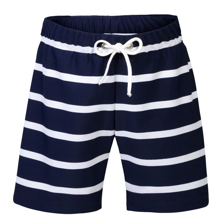 Petit Crabe - Alex Swim Shorts, Blue/White
