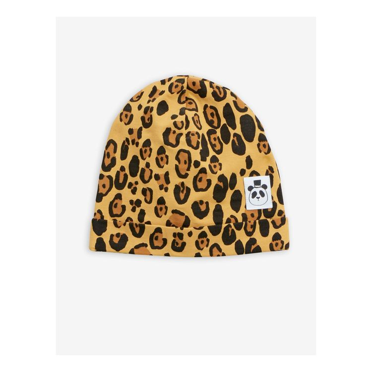 Mini Rodini - Basic Leopard Beanie Beige