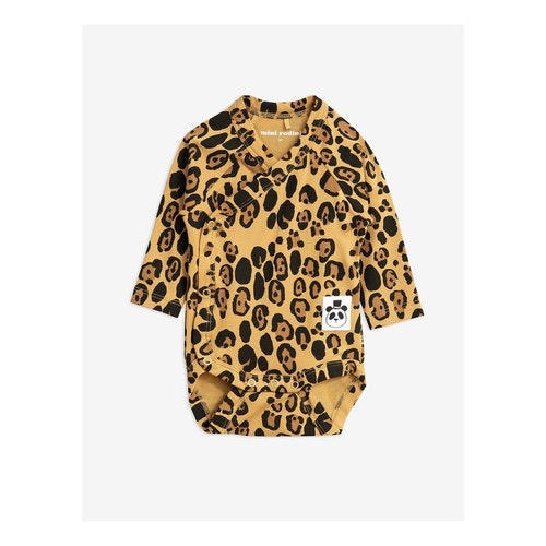 Mini Rodini - Basic Leopard Wrap Body Beige