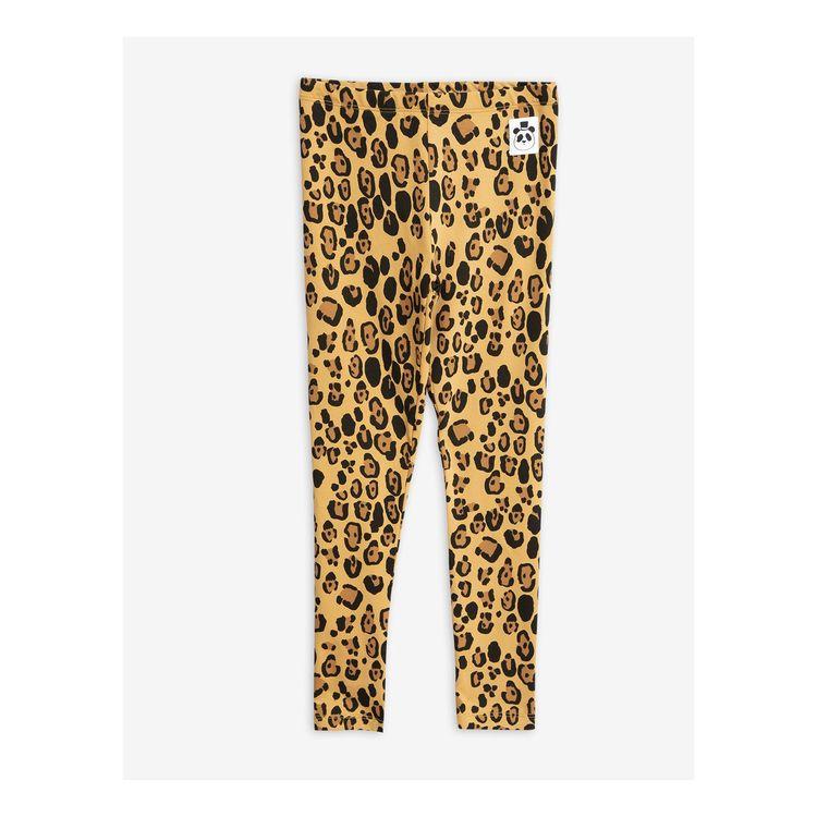 Mini Rodini - Basic Leopard Leggings Beige