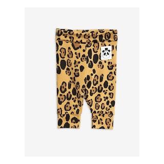 Mini Rodini - Basic Leopard New Born Leggings Beige