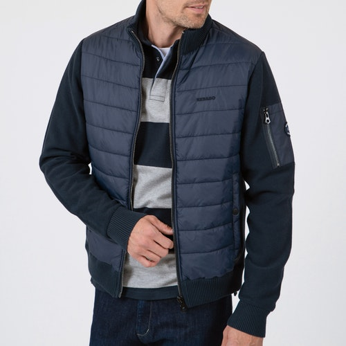 Sebago - Hybrid Knit Jacket, Navy