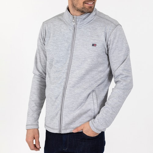 Sebago - Niclas Zip Fleece Jacket, Grey