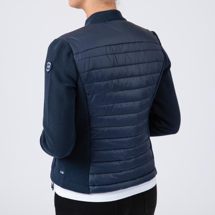 Sebago - Hybrid Knit W Jacket, Navy