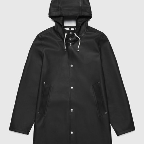 Stutterheim - Stockholm Raincoat Unisex, Black