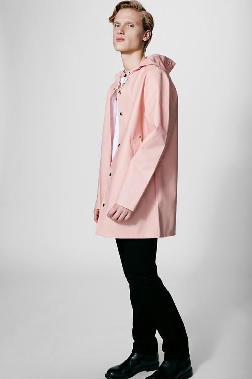 Stutterheim - Stockholm Raincoat Unisex, Pale Pink