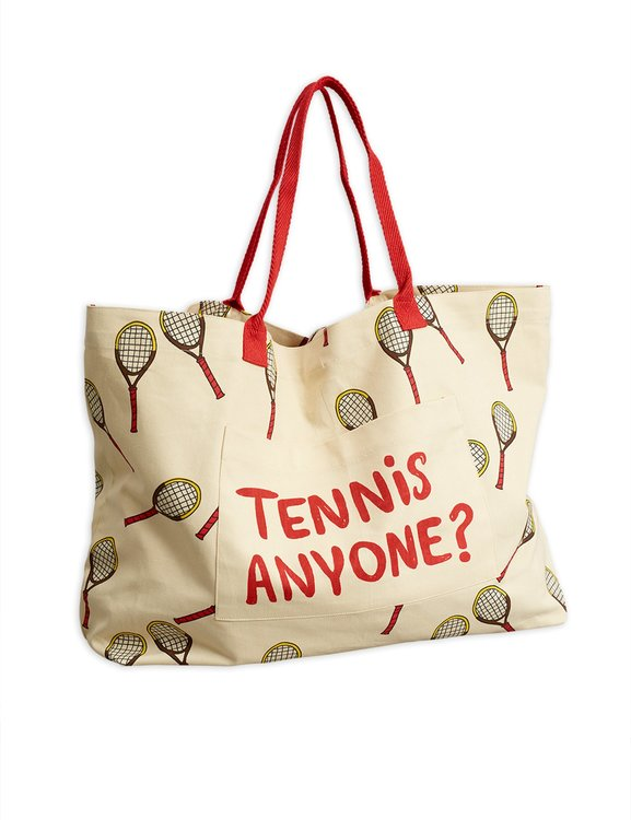 Mini Rodini - Tennis Adult Bag, Offwhite