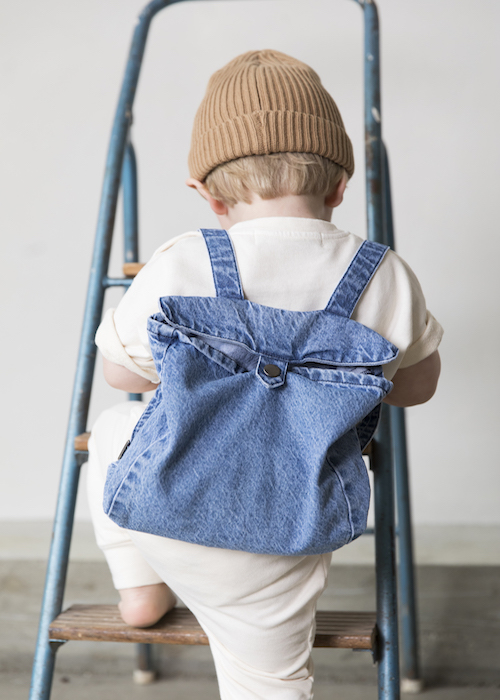I Dig Denim - Ginger Denim Backpack