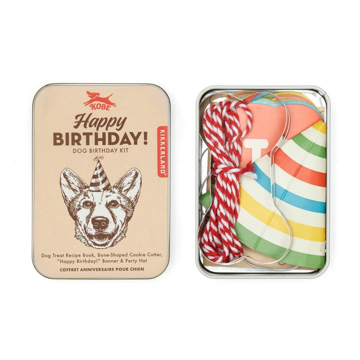 Kikkerland - Dog Birthday Kit