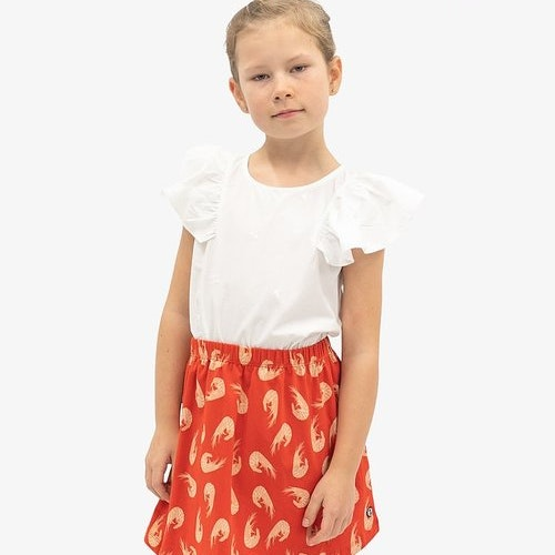 EM - Tanni Skirt Shrimp Red