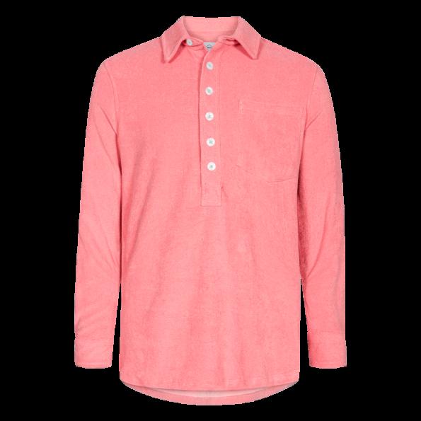 Nikben - Terry Studio LS Shirt Coral