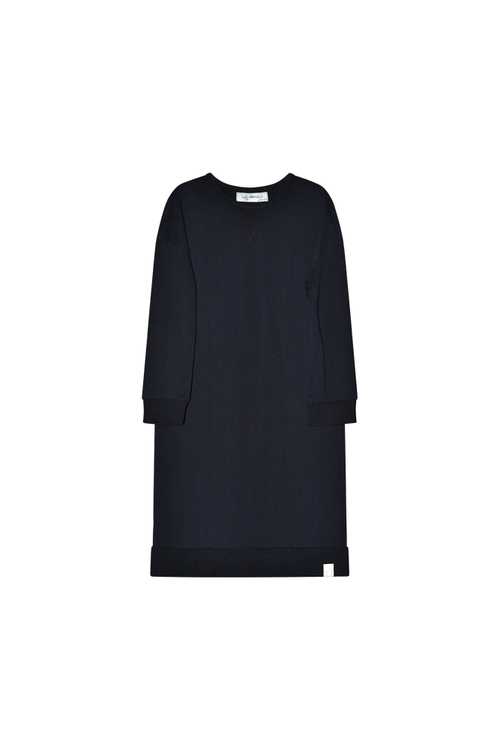I Dig Denim - Clover Sweat Dress Organic, Black
