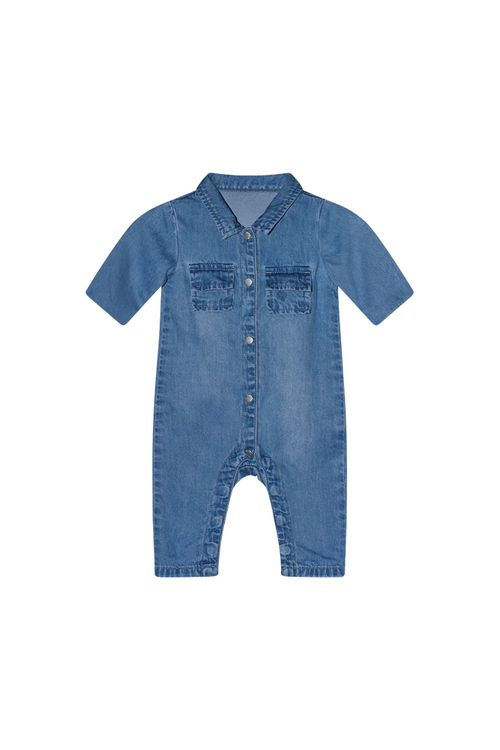 I Dig Denim - Rowan Denim Overall, Blue