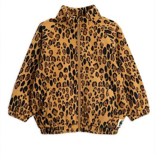 Mini Rodini - Leopard Fleece Jacket