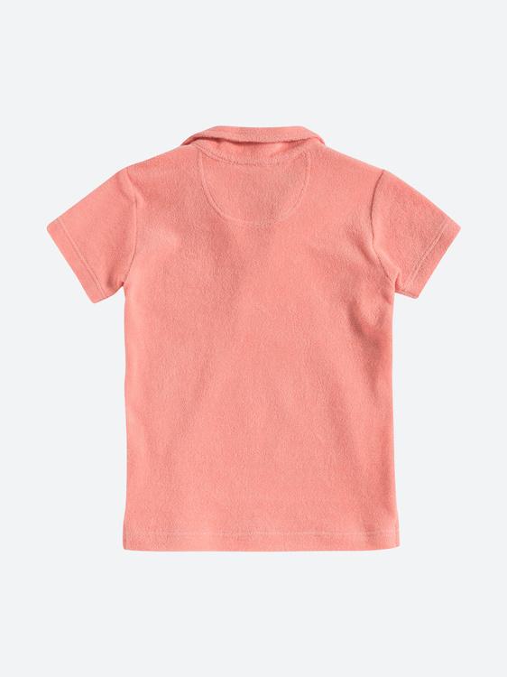 OAS - Kids Pink Terry Shirt