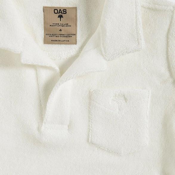 OAS - Kids White Terry Shirt