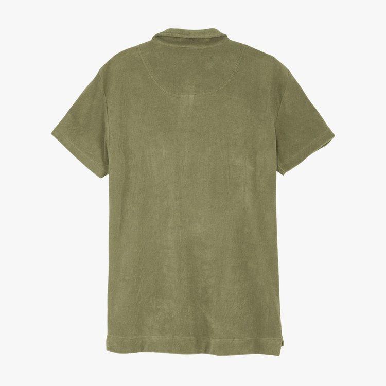 OAS - Solid Khaki Terry Shirt