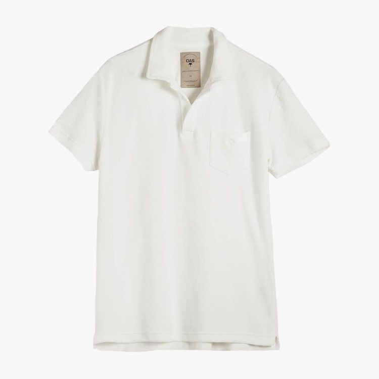 OAS - Solid White Terry Shirt