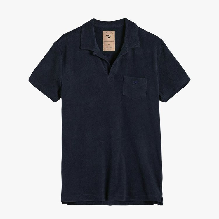 OAS - Solid Navy Terry Shirt